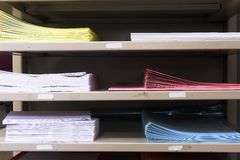2 paper tray Стоковое фото RF