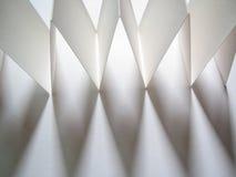 2 papierów cień Zdjęcie Royalty Free