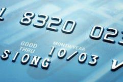 2 par la carte de crédit Photos libres de droits