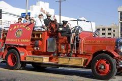 2 parady firetruck chińskiego nowego roku Obraz Royalty Free