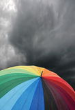 2 parasolkę Fotografia Royalty Free