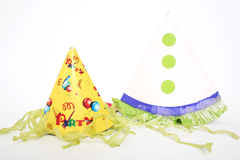 2 party cones Royalty Free Stock Image