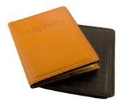 2 pasports в крышке Стоковое Изображение