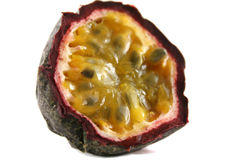 2 passionfruit 免版税库存照片