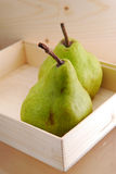 2 pears Stock Photo