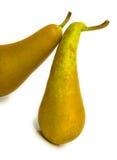 2 pears mogna två Arkivbild