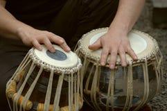2 perkusista obrazy royalty free