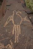 2 petroglif Obrazy Royalty Free