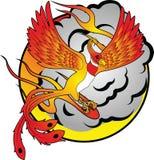 2 phoenix Arkivbilder