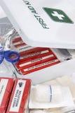 2 pierwszej pomocy kit Obrazy Stock