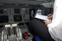 2 pilot Obraz Stock