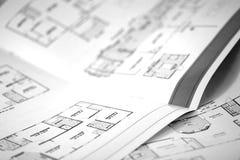 2 plan piętra Obrazy Stock
