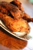 2 południowej smażone kurczaki Zdjęcia Royalty Free