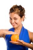 2 pomarańczę blues Fotografia Royalty Free