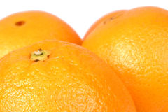 2 pomarańcze Zdjęcie Royalty Free
