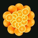2 pomarańczy schematu Obraz Royalty Free