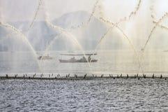 2 porcelan Hangzhou przedstawienie woda Obraz Stock