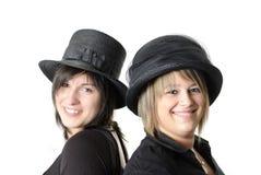 2 portrait women young Στοκ εικόνες με δικαίωμα ελεύθερης χρήσης