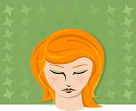 2 portretów kobieta obraz stock