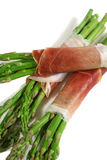 2 prosciutto asparagusów Fotografia Royalty Free