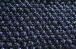 2 prydd med pärlor filtbluetextur Royaltyfria Bilder