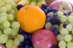 2 pucharów owoc Obrazy Royalty Free