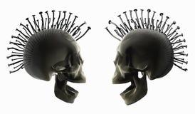 2 punka styl Obrazy Royalty Free