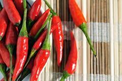 2 quentes e picantes Foto de Stock