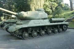 IS-2 - Réservoir lourd soviétique de la deuxième guerre mondiale Images libres de droits