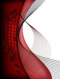 2 röda stads- för bakgrund royaltyfri illustrationer