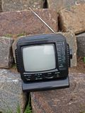 2 radiowy retro tv Obrazy Stock