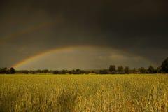 2 rainbow Fotografia Stock