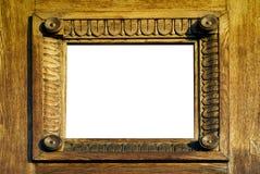 2 ramowego drewniany Fotografia Stock