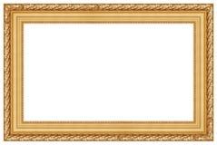 2 ramowego złoty Zdjęcie Royalty Free