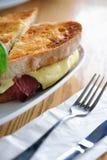 2 reuben сандвич Стоковое Изображение