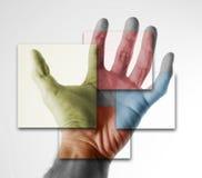 2 ręka Zdjęcia Stock