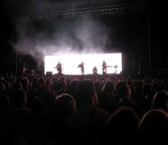 2 rock koncertów Zdjęcia Royalty Free