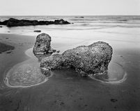 2 Rocks Yeppoon. A rock formation on Yeppoon Beach Central Queensland, Australia Royalty Free Stock Image