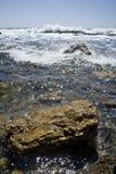 2 rocky na plaży Obraz Stock