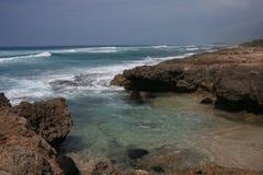 2 rocky na plaży Fotografia Stock