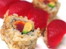 2 rolek sushi Obraz Royalty Free