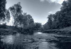 2 rzek Rosji latem Obraz Stock