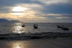 2 słońca Fotografia Royalty Free