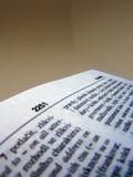 2 słownik Obraz Stock