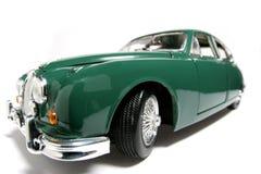 2 samochodów 1959 jaguara fisheye oceny skali zabawek metali Fotografia Stock