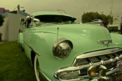 2 samochodów classic Obraz Royalty Free