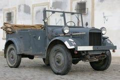 2 samochodów rocznik wojskowy Obraz Royalty Free