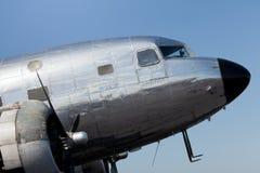 2 samolotów dc śmigła rocznik Zdjęcie Royalty Free
