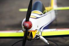 2 samolotów model Zdjęcia Royalty Free
