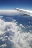 2 samolotów skrzydło zdjęcia royalty free